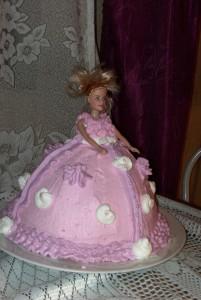 Barbie-s csokitorta