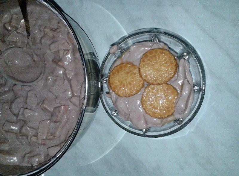 Csokoládés-mascarpone kehely