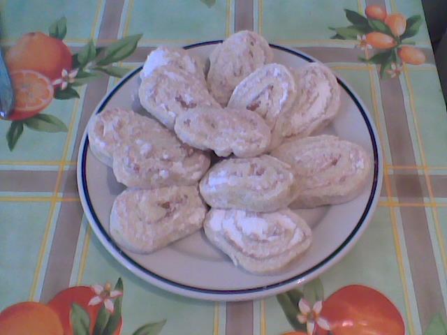vaníliás csiga