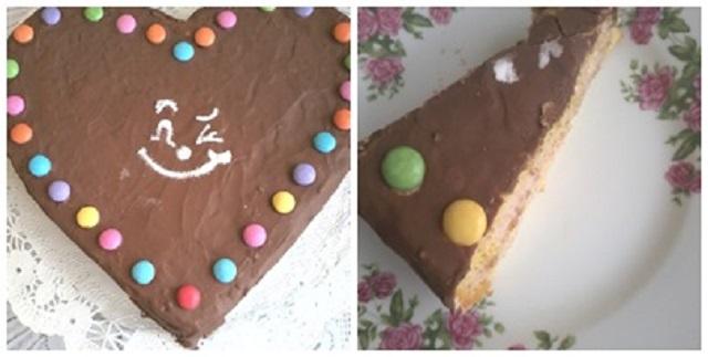 szivecske-torta