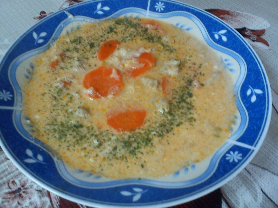 szerb leves