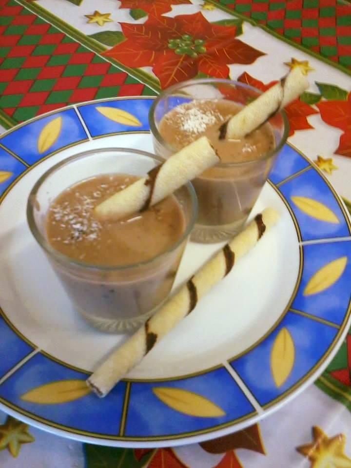 Hazi kokuszos forro csokolade