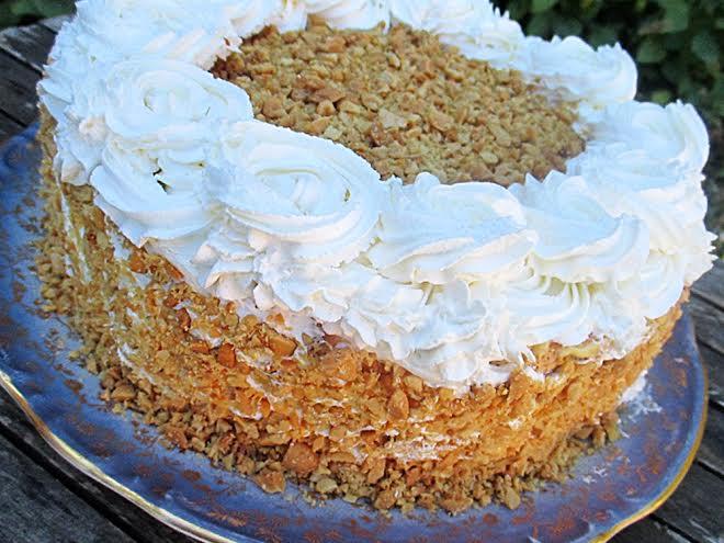 Grillazskrem torta